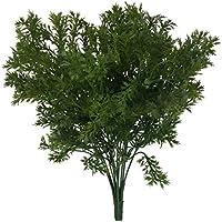 Manojo de Planta Hierba Perejil Artificial Verde Plástica Decoración Boda Hogar