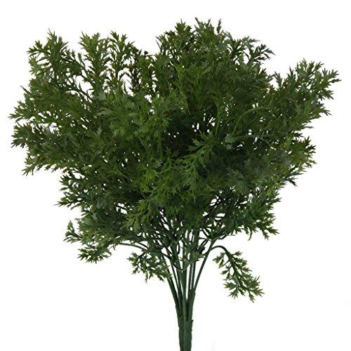 FITYLE 6-Zweig Künstliche Farn-Gras Blätter Kunstpflanzen -Wohnkultur