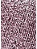 Lang Yarns Glitzergarn Lamé Altrosa Fb. 109 mütze stricken Anleitung: Mütze stricken im Rippenmuster