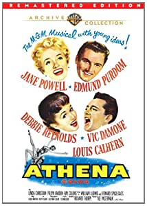 Athena [DVD] [1954] [Region 1] [US Import] [NTSC]