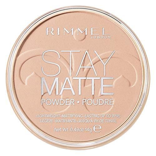 RIMMEL LONDON Stay Matte Long Lasting Pressed Powder - Natural - Rimmel London Bleiben Matte