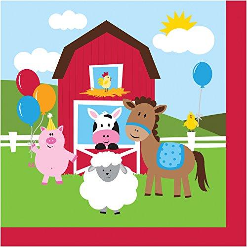 NEU Servietten Farm Babys, 33x33 cm, 16 Stück