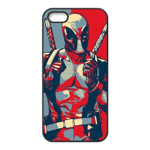 Deadpool coque iPhone 4 4S Housse téléphone Noir de couverture de cas coque EBDXJKNBO11980