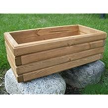 KENA D-2 - Jardinera de madera, alta calidad, longitud 60/80/100cm