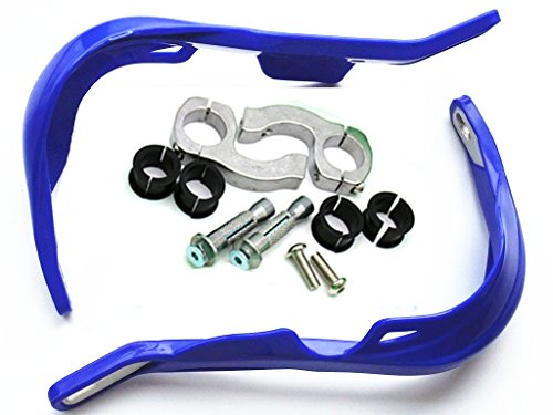 Blau 28 mm Fat Bar Bürste Hand Wachen Raptor 1 1/8 Zoll Kit Pro Taper Antwort für Dirt Bike Dirt Offroad MX (Dirt Bike Taper Pro)