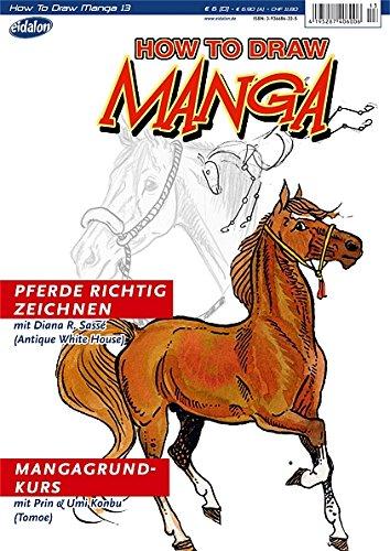 How To Draw Manga: Pferde richtig zeichnen