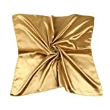 TopTie Damen Schal Gr. Small, Gold - Goldfarben