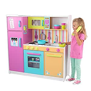 Kidkraft 53100 Deluxe Big And Bright Wooden Pretend Play