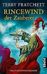 Rincewind, der Zauberer: Vier Scheibenwelt-Romane (Die Farben der Magie . Das Licht der Phantasie . Der Zauberhut . Eric)