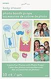 Unique Party Paquete de 10 Accesorios de Cabina de Fotos Baby Shower,...