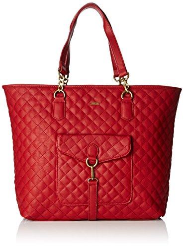 Kaporal Oxyde, Borsa a spalla donna , Rosso (Rouge (Borde)), Taille Unique
