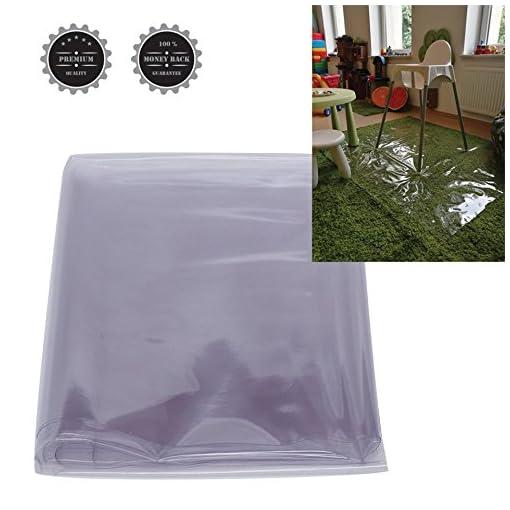 Clear Baby Splash Mat High Chair Floor Mat Messy Mat Under Highchair
