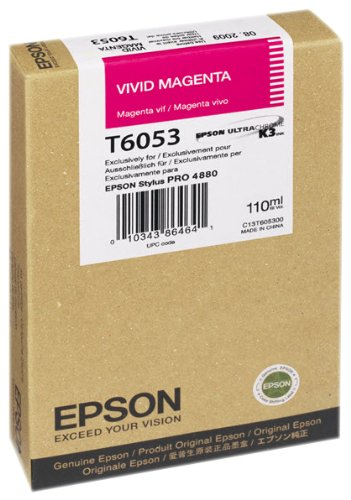 Preisvergleich Produktbild Epson T6053 Tintenpatrone, Singlepack, vivid hell magenta