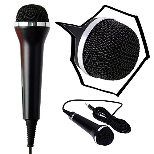 Mcbazel micrófono USB con micrófono USB para PS4 Slim Pro PS3 Xbox One 360 PC para Wii