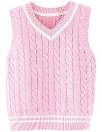 Chaleco De Suéter De Primavera Y Otoño Invierno Baby Knit Chaleco De Algodón  para Niños con 44f1aece65c5