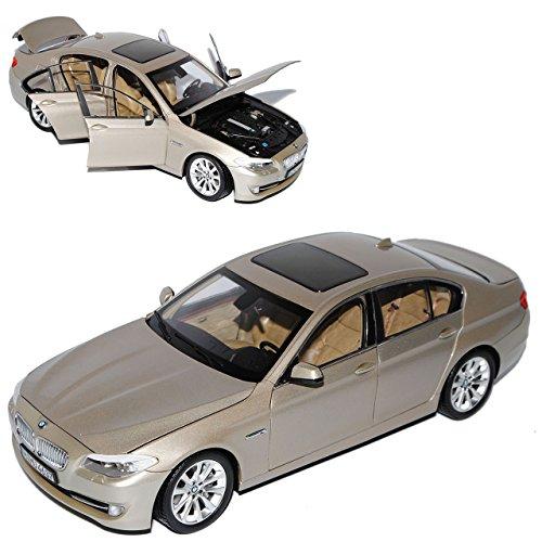 Preisvergleich Produktbild BMW 5er F10 Gold Limousine Ab 2010 1/18 GTA Welly Modell Auto