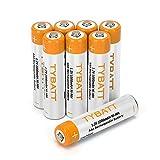 NiMH Akku vorgeladen AAA 1.2V 1000mAh wiederaufladbar Akkubatterien 8-er Pack mit Aufbewahrungs-Box