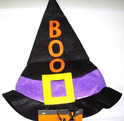 halloween-boo-purple-black-felt-witch-hat-child-3-nwt