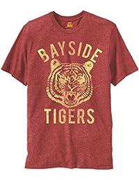 Bayside Tigers Adult Heathered Burgundy T-shirt