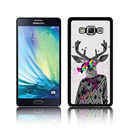'Trippy Hipster Deer' - Cool Quirky Schutzhülle für Samsung GALAXY A7 Superdünnes (kaum sichtbares)