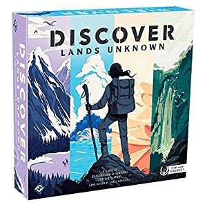 Fantasy Flight Games FFGDSC01 Discover: Tierras desconocidas, Colores Variados