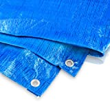 Bradas PL2/3 Abdeckplane 2 x 3 m, 60 g, blau