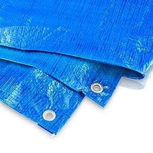 Abdeckplane 2 x 3 Meter - 60 g blau
