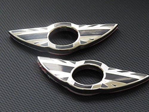 BADGE PER PORTA PIN Emblema Black England per MINI Cooper / S / ONE / Roadster / Clubman / Coupe