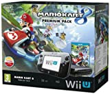 Nintendo Wii U Premium Pack schwarz, 32GB inkl. Mario Kart 8 (Disk-Version)