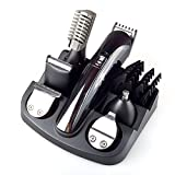 GoodPro Professional 6 in 1 Hair Clippers for Men, Styling Tools Shaving Machine, Electric Shaver Beard Trimmer, Hair Shaver Nose Blind Angle Trimmer Cutter