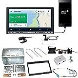 Sony XAV-AX3005DB CarPlay Android Auto Digitalradio DAB+ USB Autoradio Touchscreen Bluetooth Moniceiver Einbauset für Peugeot 207 307 Partner Expert