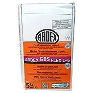 """ARDEX G8S Flex-Fugenmörtel 1-6mm 5kg, Farbe """"sandgrau"""" schnell erhärtend und belastbar"""
