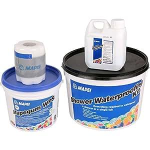 Mapei Shower Waterproofing Kit: Amazon.co.uk: DIY & Tools