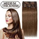 Best Extensions de cheveux humains - S-noilite Extensions de cheveux humains naturels à clips Review
