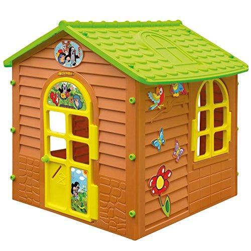 Preisvergleich Produktbild XL Spielhaus DER KLEINE MAULWURF Gartenhaus Kinderspielhaus