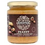 Biona Organische Erdnussbutter Crunchy (Frei Von Palmfett) 250G
