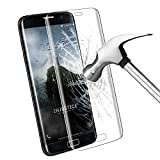 Protection écran Galaxy S7 Edge, Samione Galaxy S7 Edge Screen Protector Résistant Dureté 9H Glass 3D Incurvé en Verre Trempé pour Samsung Galaxy S7 Edge - 1 pack (Transparent)