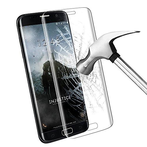 Samsung Galaxy S7 Edge Pellicola Protettiva, Samione Completo Schermo In Vetro Temperato Crystal Clear Protettiva per Galaxy S7 Edge Transparent 1Pack