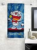 #10: Doraemon Athom Trendz Bath Towel 350 GSM 60x120 cms
