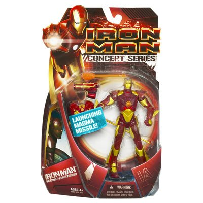 Iron Man Action Figure - Ironman with Inferno Armor