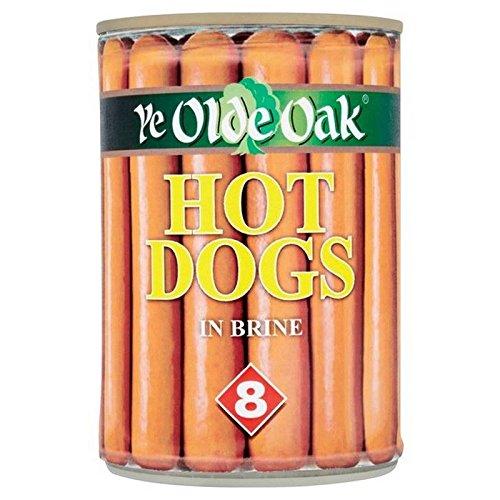 Ye Olde Eiche 8 Hot Dogs In Salzlake 400 G