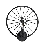 Wandleuchte Edison Wheel,-Alte Eisen industriellen in europäischen Stil, Wandleuchte Flur Flur Café, Lampenfassung E27