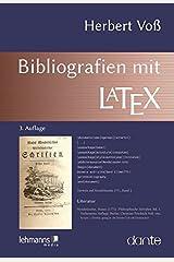 Bibliografien mit LaTeX Taschenbuch
