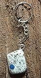 KRIO® - K2 Stein aus eigener Schleiferei als Schlüsselanhänger