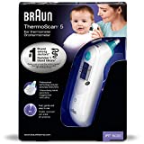 Braun Thermomètre auriculaire infrarouge ThermoScan®5 / IRT6020MNLA