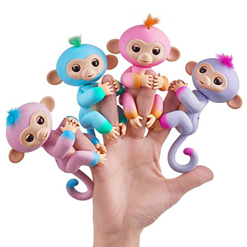 Laughters Funny Baby Monkey with 6 Interactive Modes (Multicolour)-Pack of 2