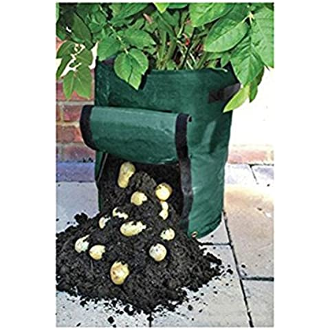 AmgateEu - Bolsa de cultivo, impermeable, 35cm de diámetro, 45cm de altura