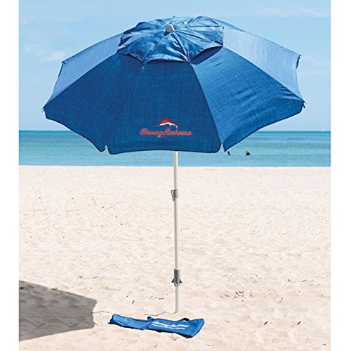 tommy-bahama-sand-21-m-diameter-parasol-blue-with-anchor-and-245-m-height