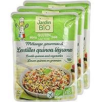 Jardin Bio Mélange Gourmand Lentilles Quinoa Légumes sans Gluten 250 g