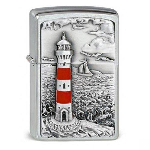 Original Zippo Lighthouse Emblem - Leuchtturm